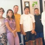 Dr. Alexandre Cosendey e a equipe de Vela