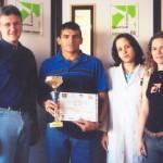 Dr. Alexandre Cosendey e o ultra-maratonista Sebastião Da Guia e equipe