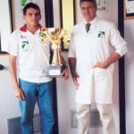 Dr. Alexandre Cosendey e o ultra-maratonista Sebastião Da Guia